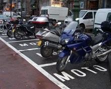 Stationnement des motos en Belgique